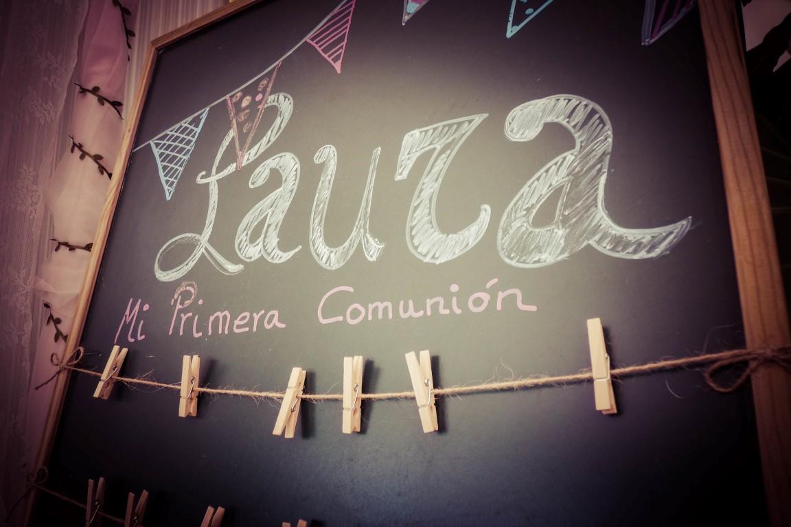 Comunión de Laura